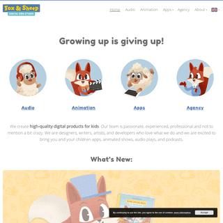 Fox & Sheep – Digital Kids Studio