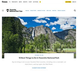 Plan Your Trip to Yosemite National Park Plus Fun Road Trips