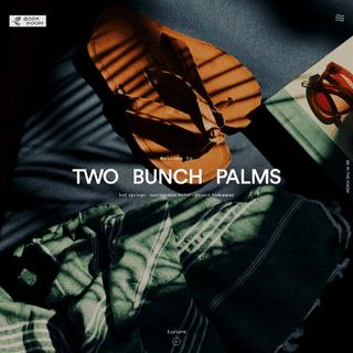 Desert Hot Springs Resort & Spa - Two Bunch Palms