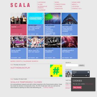 Scala - London club and live music venue