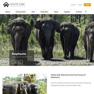 White Oak Conservation - Animal Conservation in Yulee, Florida