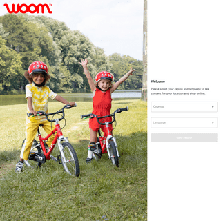 Kids bike - woom - pedal your planet