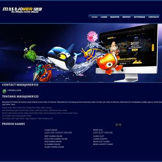 Situs Judi Online, Judi Tembak Ikan Online, Judi Live Casino, Judi Slot Online Terpercaya - MasaJoker123