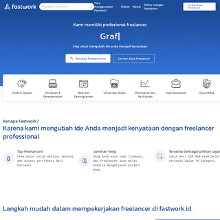 Fastwork.id- Situs Freelance Online Terpercaya #1 di Indonesia