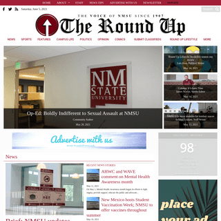 NMSU Round Up - The Independent Student Voice of NMSU Since 1907
