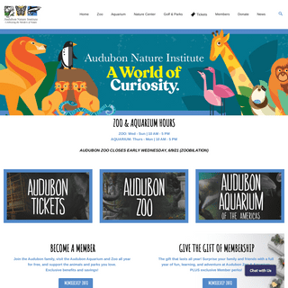 Audubon Nature Institute - Celebrating the Wonders of Nature - New Orleans