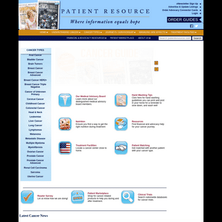 .-- Patient Resource Publishing - Home --.