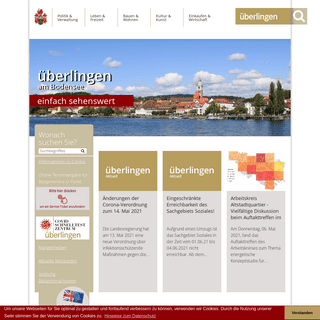 Große Kreisstadt Überlingen- Startseite