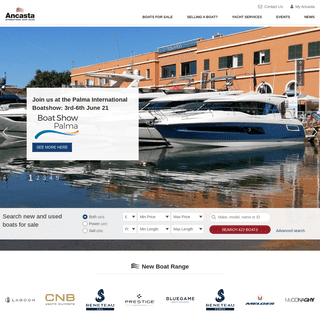 Yachts For Sale - New and Used Boats For Sale UK - Ancasta