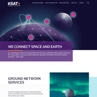 KSAT - Kongsberg Satellite Services