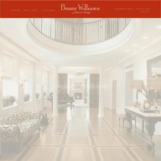 Homepage - Bunny Williams Interior Design