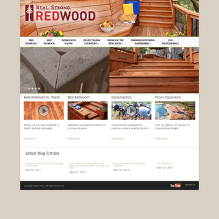 Choose Redwood for Your Outdoor Living Spaces - California Redwood