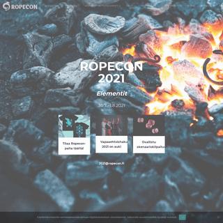 EtäRopecon 2021 - 30.7.-1.8.2021 - 30.7.–1.8.2021