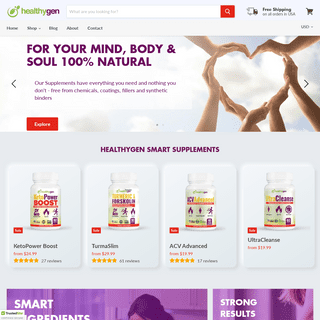 Smart Fast Keto Diet Supplements - Immunity and Weight Loss — HealthyGen Smart Supplements