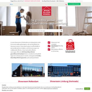 WoonWijzerWinkel, de grootste duurzaamheidswinkel van NederlandWoonwijzerwinkel