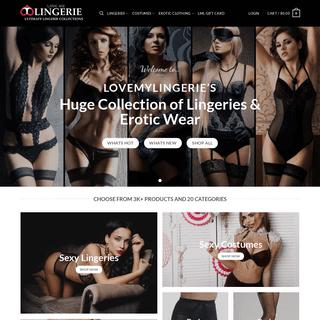 Lovemylingerie.com - Ultimate Lingerie Collections