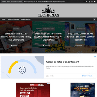 TechPinas - Philippines` Technology News, Tips and Reviews Blog