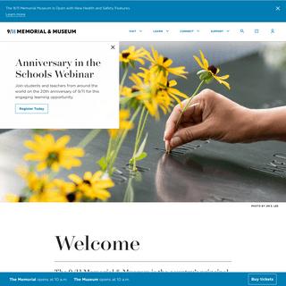 Homepage - National September 11 Memorial & Museum