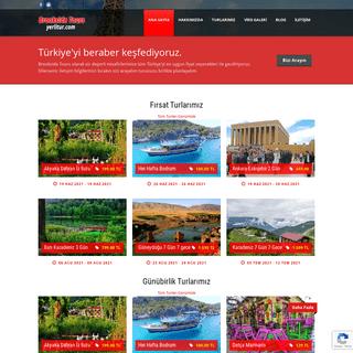 Brookside Tours - Yurtiçi Turlar – Türkiye`yi birlikte keşfediyoruz…