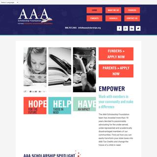 Home - AAA Scholarship Foundation