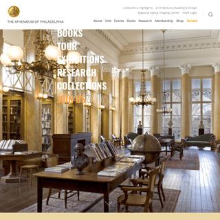 The Athenaeum of Philadelphia – THE ATHENÆUM OF PHILADELPHIA