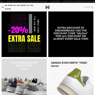 SneakerBAAS - Online sneaker store - Shop your favorite sneakers