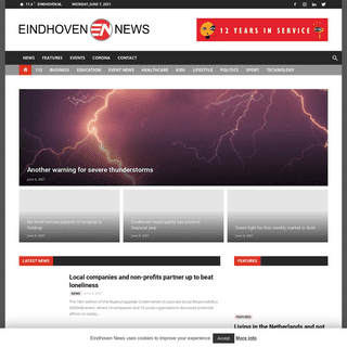Eindhoven News - Daily news in English to connect internationals to the local life