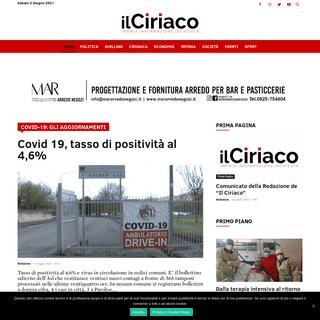 Home - IL CIRIACO - Quotidiano on line di Avellino e Provincia