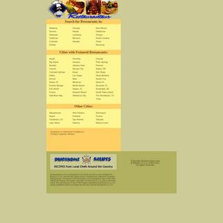 Restaurants for Dining in California, Colorado, Georgia, Hawaii, New Mexico, Oklahoma, Texas, Wyoming