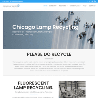 ♻️ Chicago Lamp Recycling - Fluorescent, e-Waste & HID Lamps Recycling