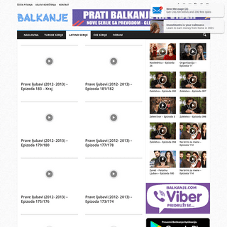 Prave ljubavi (2012- 2013)