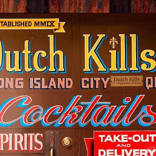 Cocktails - Dutch Kills Bar - United States
