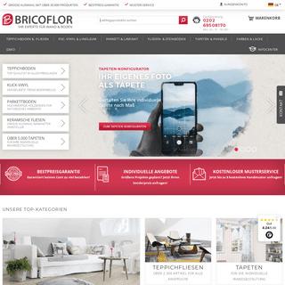 BRICOFLOR - Ihr Online-Shop für Wand- & Bodenbeläge!