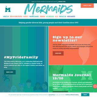 Homepage - Mermaids
