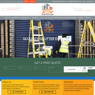 Roller Shutter Repair - Roller Shutters In London - Shopfitters UK