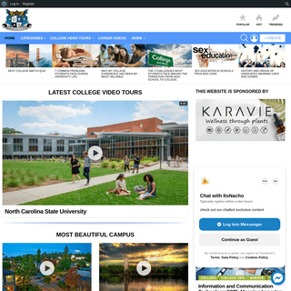 College Video Tours, Career Videos, College Blogs & Quizzes - YOUniversityTV