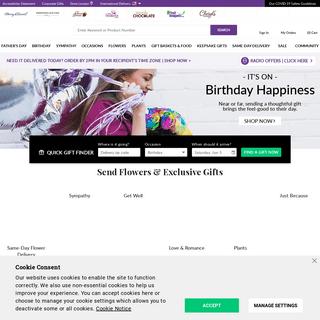 Flowers - Flower Delivery - Fresh Flowers Online - 1-800-Flowers.com