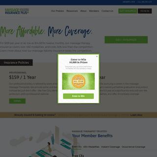 Massage Magazine Insurance Plus - Massage Therapy Insurance