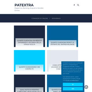 Patextra - Risparmio, Banking, Acquisti e Vendite Online