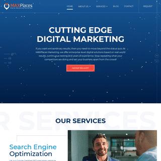 Long Island SEO Company - New York City Digital Marketing - MAXPlaces