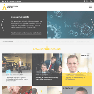 Homepage - Accountancy Europe