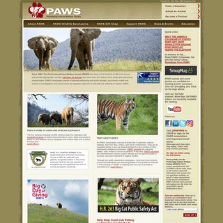 Performing Animal Welfare Society -- PAWS