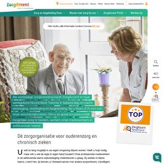 Zorgorganisatie ZorgAccent voor ouderenzorg