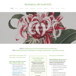 BOTANICAL ART & ARTISTS - Home
