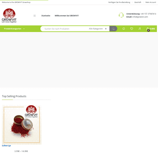 GROWVIT GmbH – Vertriebshändler für Grow-Produkte