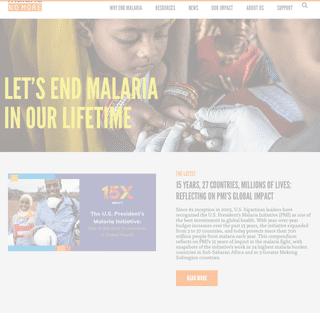 Home - Malaria No More