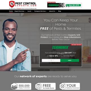 Find the Best Pest Control Services - PestControlExperts.com