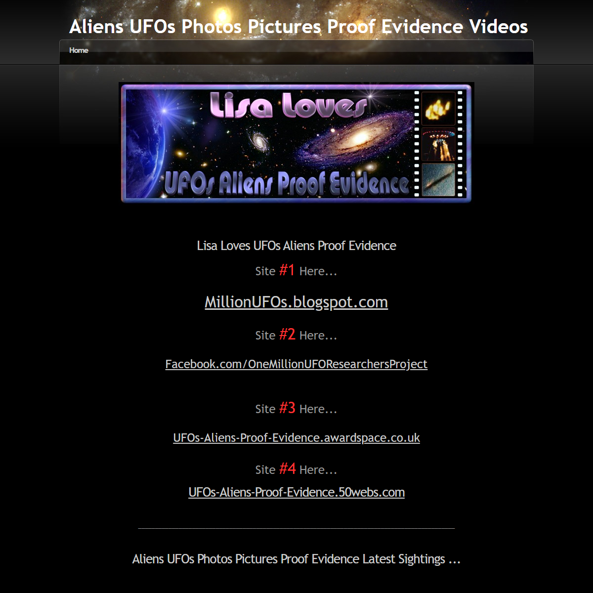 Aliens UFOs Photos Pictures Proof