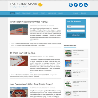 The Outlier Model - Living life just a little bit differently