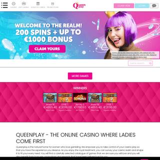 Ladies Rule at Queenplay Online Casino